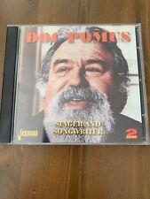 Doc Pomus Singer And Songwriter Cd 2 Disc