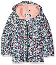 Carter's Girls Floral Print Fleece Lined Jacket Size 4 5/6 6X 10/12 14