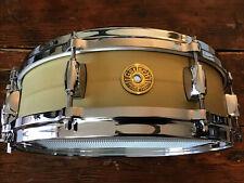 "Gretsch Drums Gergo Borlai 4.25"" x 14"" Signature Snare Drum, Brass"