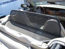 Jaguar XK8 / XKR / X100 Cabrio Windschutz QDV + Tasche | 1996-2000 | Schwarz