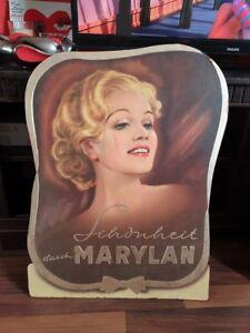 Werbeschild , DDR,  Marylan  , ca. 60 x50 , 50 er Jahre