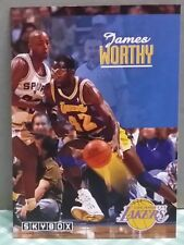 James Worthy card 92-93 Skybox #121