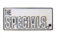 The Specials SKA Band Schwarz & Weiß Zweifarbig MOD Metall Reggae Emaille