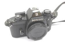 Nikon EM Body, Chrome Button Version, Excellent Condition, Tested, New Seals