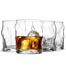 Bormioli Rocco Sorgente Double Old Fashioned Glasses (Set of 4) Cocktail Glasses
