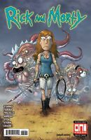 Rick and Morty #39 Mike Vasquez Exclusive Variant - Walking Dead 19 Homage