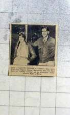 1927 Ruth Elder And Captain George Haldeman Attempted Atlantic Flight