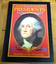 World book of America's presidents  (NoDust) 1989 WORLD BOOK FETZER