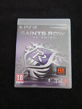 PS3 : SAINTS ROW : THE THIRD 3 - Nuovo, sigillato, ITA !