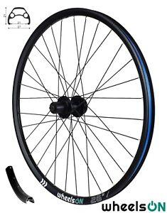 26 Inch WheelsON Rear Wheel Mountain Bike Disc 8/9/10 Spd Cassette 32H Black QR