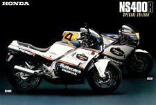 Honda NS400R Poster MINT Rothman's Racing Colors NS 400R Large Poster