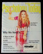 MADONNA OCTOBER 1994 PSYCHOLOGY TODAY NRMT! SPIRITUALITY/ S&M WHY PEOPLE DO IT