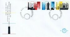 1987 NEDERLAND SEMI-POSTAL TRADITIONAL INDUSTRIES 3 STAMP SET OFFICIAL COVER FDC