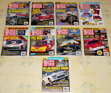 """9 DIFFERENT VINTAGE 1992 """"SUPER STOCK&DRAG ILLUSTRATED"""" MAGAZINES IN VG COND!!!!"""