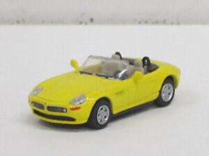 BMW Z8 Cabrio in gelb, ohne OVP, Joy City, 1:72
