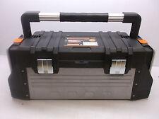 "Portable Tool Box Set Polypropylene/Steel 24-7/8"" Oa Width 12"" Oa (Os9)"