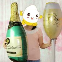 Foil Balloons Champagne Bottle Wedding Birthday Christmas Party Decor Gift Fast
