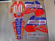 TEAM LUCAS OIL graphics Honda 1995 96 97 CR125 CR125R & 1995 1996 CR250 CR250R