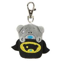 Me to You Super Hero Cape Key Ring Clip Soft Fun Accessory - Tatty Teddy Bear