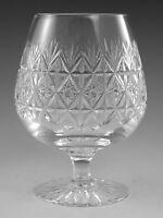 "Thomas WEBB Crystal - WELLINGTON Cut - Brandy Glass / Glasses - 5 1/4"" (2nd)"