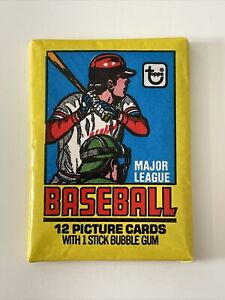 ONE (1) 1979 TOPPS MLB Baseball Sealed Wax Pack Possible Ozzie Smith RC