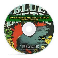 Super Hero, Villains, Vol 5, Wonderworld Comics He Man Golden Age Comics DVD D70