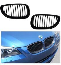 2 GRILLE DE CALANDRE NOIR BAD LOOK BMW SERIE 5 E60 E61 7/03 - 05/2010