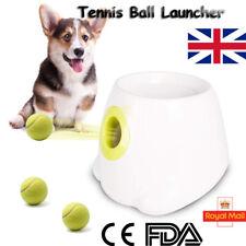 Automatic Launcher Tennis Ball Interactive Pet Dog Treat Fetch Hyper Training