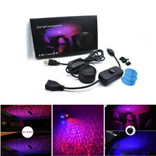 3Models Car Ceiling Star Light LED Atmosphere Projector Armrest Box Galaxy Lamp