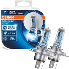 OSRAM COOLBLUE Intense H4 60/55W Xenon Blau 4200K Halogen 2 Stück Duo 64193CBI