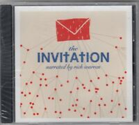 THE INVITATION - NARRATED BY RICK WARREN CD 2006 NEW