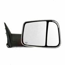 RH Passenger Side For 98-01 Dodge Ram 1500 2500 Chrome Power Heated Tow Mirror