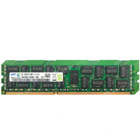 Samsung 16GB 4x4GB 2Rx4 PC3-12800R DDR3-1600 240Pin ECC Registered Server Memory