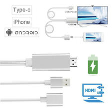 Universal USB To HDMI Cable HD TV AV Adapter Connector For iPhone/Android Phones