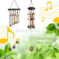 New listing Tubes Wind Chimes Windchime Chapel Church Bell Yard Garden Hanging Garden bronze
