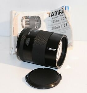 Tamron 135mm !:2.5 Manual Focus Lens for Adaptall Nikon and others  Great Lens