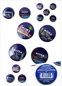 2 3 4 or 5 Pack NIVEA Creme Travel Size Tin 1oz. Limited Edition