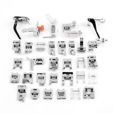 32Pcs Domestic Sewing Pressure Machine Foot Walking Feet Kit For Brother Singer