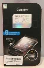 "NIP Spigen Oleophobic Coated Tempered Glass ""Full Coverage"" White for iPhone 6"