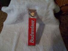 "Budweiser Beer Tap Handle 8"" Anheuser Busch Collectible Barware"