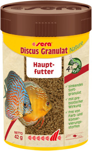 Sera Discus Granulate Natürlich 100 ML Main Food for All Fish