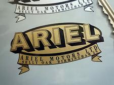 Ariel Oval & Banner Motocicleta pegatina 80mm Bicicleta Flecha Cuadrado 4 Hunter Leader