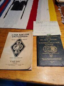 1935 Star Rare Coin Encyclopedia World Coins & 1970 Black Book of US Coins Lot