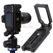 L Shape Bracket Universal Quick Release Plate For Nikon Canon Sony Pentax