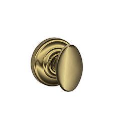 Schlage F170Sie609 Antique Brass Dummy Knob