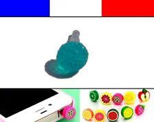 Cache anti-poussière jack universel iphone capuchon bouchon Boule strass 3