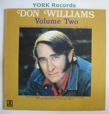 DON WILLIAMS - Volume II - Excellent Con LP Record
