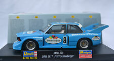 REVELL/MONOGRAM 08397 BMW 320 DRM 1977 PETER SCHNEEBERGER 1/32 SLOT CAR 8397