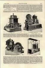 1897 motor de elevación eléctrica de montaña Scott Locomotora eléctrica Riel central de Londres