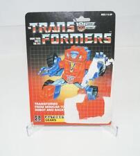 Gears Cardback Vintage Hasbro 1984 G1 Transformers Action Figure